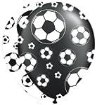 8 bedruckte Luftballons * FUSSBALL-ST...