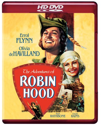 Cover art for  The Adventures of Robin Hood (1938) [HD DVD]