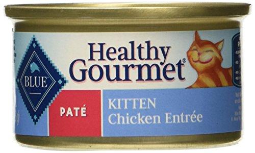 BLUE Buffalo Healthy Gourmet Chicken Entrée For Kittens