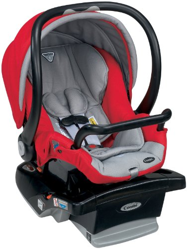 Combi Shuttle Car Seat, Red front-194019