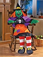 Stuffable 4Ft Witch Halloween Party Decoration from Collections Etc