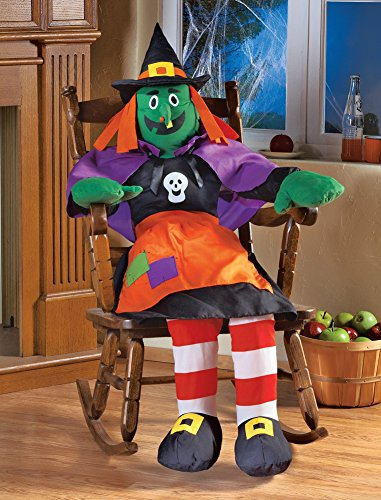 Stuffable 4Ft Witch Greeter Halloween Decoration