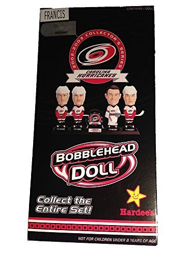 ron-francis-bobblehead-doll-carolina-hurricanes-2002-2003-collection-with-stand-by-hardees