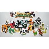 Kung Fu Panda Mini Figure Toy Set Of 13 With The Furious 5, Evil Spirit Kai, Po, Master Shifu, Mr. Ping, New Pandas...