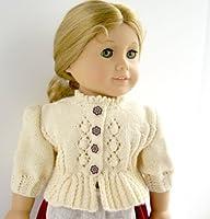 Knitting Pattern Folk Dirndl Jacket for American Girl Doll from Irene Aksilenko