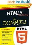 HTML5 Schnelleinstieg f�r Dummies (Fu...