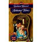 Book Review on Autumn Vows (Signet Regency Romance) by Barbara Hazard