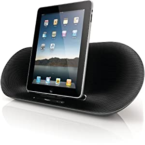 Philips Fidelio DS8550 Speaker System for iPod/iPhone/iPad (Silver/Black)