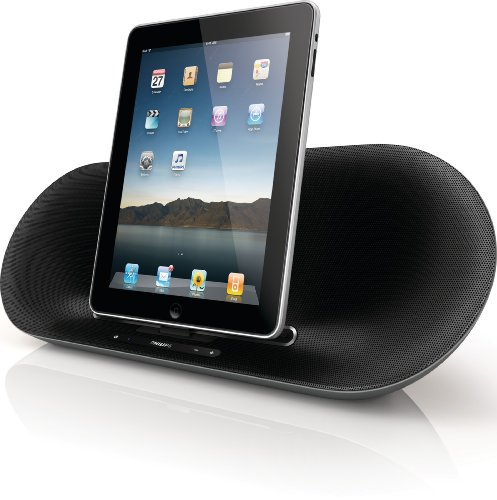 Philips DS8550/10 Docking Speaker for iPad/iPhone/iPod with Bluetooth - Silver