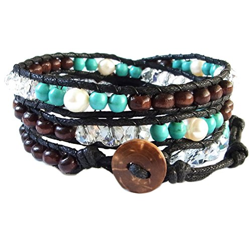 lun-na-asiatique-bracelet-wrap-fait-main-100-perles-en-bois-cristal-turquoise-perle-couleur-vert-bru