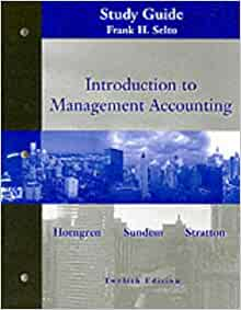 Introduction to accounting chapter 12