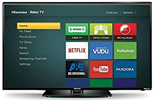 Hisense 40H4C 40-Inch 1080p Roku Smart LED TV (2015 Model)