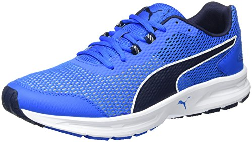 Puma Descendant V4, Sneaker Uomo, Blu (Electric Blue lemonade-PEACOAT-puma White 03), 41