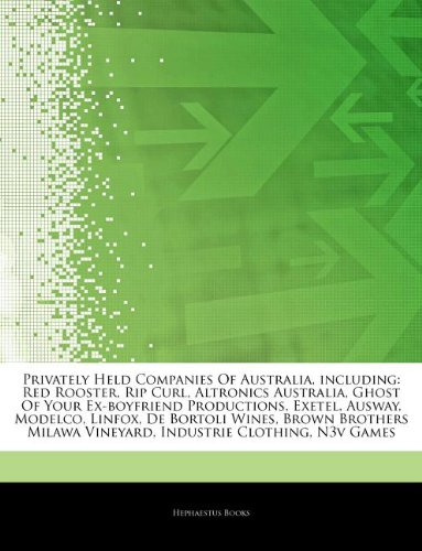 articles-on-privately-held-companies-of-australia-including-red-rooster-rip-curl-altronics-australia