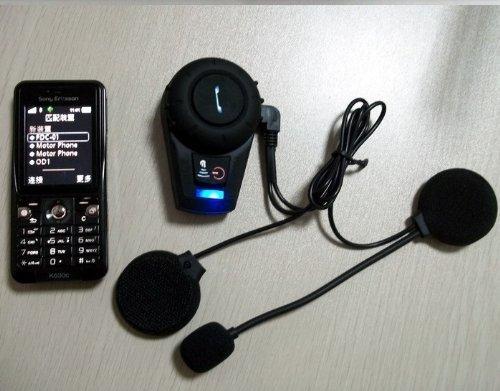 Fome Bt Interphone Bluetooth Motorbike Motorcycle Helmet Intercom Headset 500M + Fome Gift