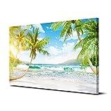Royllent アートパネル 「砂浜」 40*60cm(フレーム・木枠付きの完成品) (A)