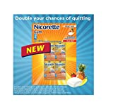 Nicorette Gum Fruit Chill 2 mg - 8 Pocket Packs x 25 Pieces Each - 200 Count