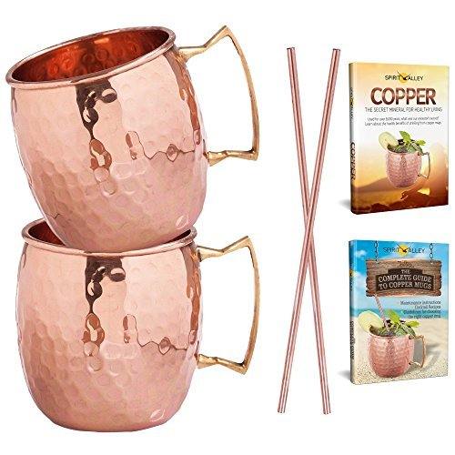 moscow-mule-copper-mugs-and-straws-gift-set-100-pure-recycled-copper-cups-by-spirit-valley