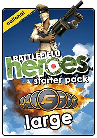 Battlefield Heroes National Army Large Starter Pack  [Online Game Code]