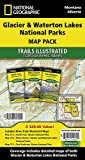 Glacier and Waterton Lakes National Parks [Map Pack Bundle]