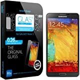 SPIGEN Samsung Galaxy Note 3 Screen Protector Glass [GLAS.t SLIM] Tempered Glass Screen Protector Clear for Galaxy Note III - GLAS.t SLIM
