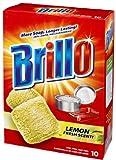 Brillo Steel Wool Soap Pads Lemon 10 Count