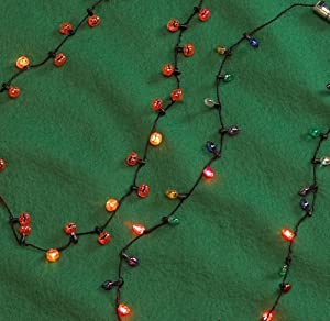 Amazon.com: D&D Distributing Blinking Halloween Necklace: Toys & Games