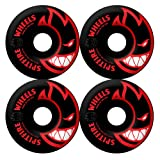Spitfire Black Bighead Color Series 52mm High Performance Skateboard Wheel (Set of 4)