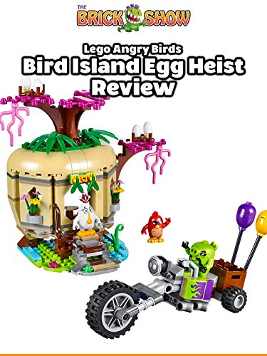 LEGO Angry Birds Bird Island Egg Heist Review