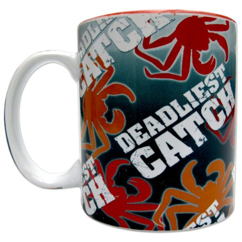 Deadliest Catch Crab & Logo Mug