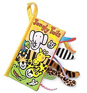 Jelly Cat Jellycat Soft Books, Jungly Tails