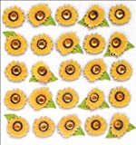 Jolee's Boutique Dimensional Stickers, Sunflowers