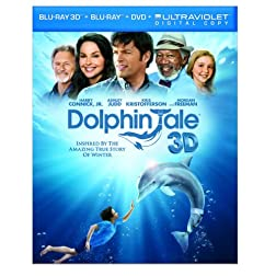 Dolphin Tale (Blu-ray 3D / Blu-ray / DVD / UltraViolet Digital Copy)