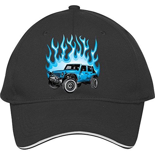 Adjustable Snapback Unisex Jeep Wrangler Baseball Cap