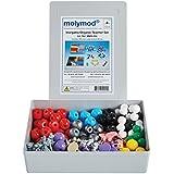 Molymod MMS-004 Inorganic/Organic Chemistry Molecular Model, Teacher Set (108 atom parts)
