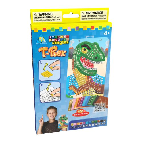 The Orb Factory Sticky Mosaics Sticky Mosaics Singles T-Rex - 1
