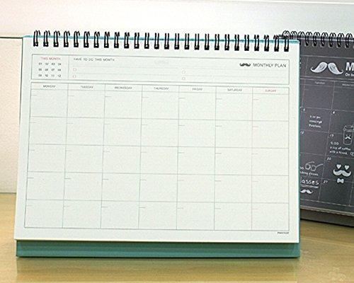 Calendar Planner For Pc : Bonjour monthly desktop easel calendar planning