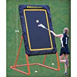 EZGoal Lacrosse Folding and Tilting Rebounder, 8-Feet, Orange by EZGoal