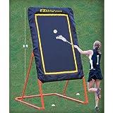EZGoal Lacrosse Folding and Tilting Rebounder, 8-Feet, Orange by EZGoal