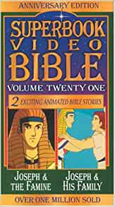 Joseph And The Famine Joseph And Family Superbook Video