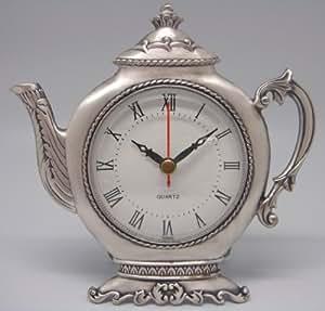3 Inch Round Teapot Quartz Clock (Item # 14)