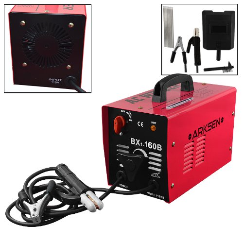 160 Amp Arc Electric Welding Machine 1-Phase Rod Stick Electrode Welder Diy Tool