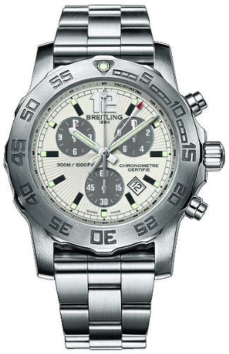 NEW BREITLING AEROMARINE COLT CHRONOGRAPH II MENS WATCH A7338710/G742