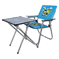 Multipurpose Fold-able Table chair For Dining in, Studies & Play - Design may vary