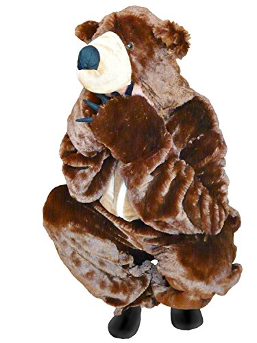Fantasy World Adults Brown Bear Costume 8-10 / M F67 (Unique Adult Halloween Costumes Ideas)