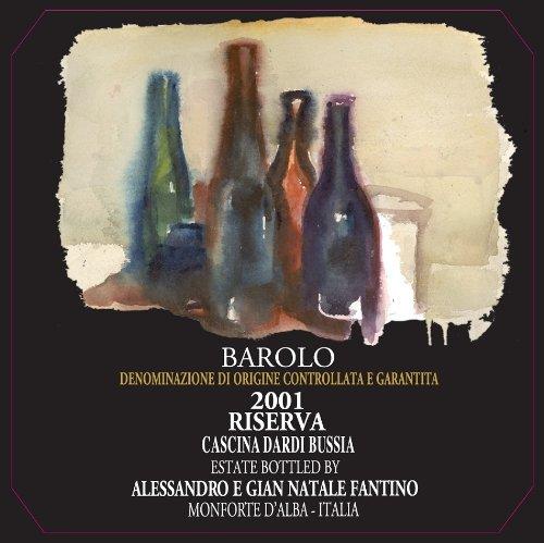 2001 A & G Fantino Barolo Riserva 750 Ml