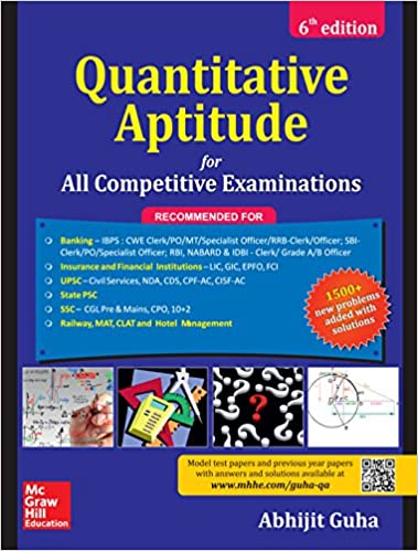 Quantitative Aptitude for All Competitive Examination by Abhijit Guha