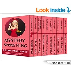 Mystery Spring Fling: 10 romantic mystery novels