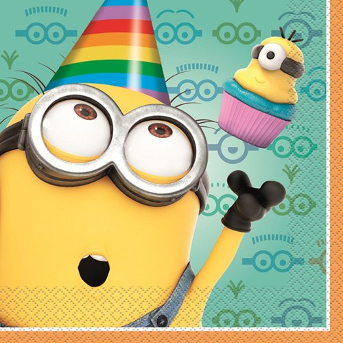 Despicable Me 2 Luncheon Napkins [16 Per Pack]