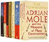 Image of Adrian Mole Pack 7 Books Collection RRP£55.93 (The Secret Diary of Adrian Mole Aged 13 3/4, The Growing Pains of Adrian Mole, True Confessions of Adrian Albert Mole, Adrian Mole The Wilderness Years, The Cappuccino Years, The Lost Diaries of Adrian) (Adrian Mole)